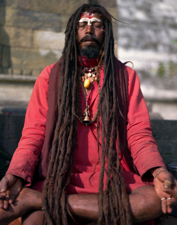 Holy Man-Pashupatinath 1